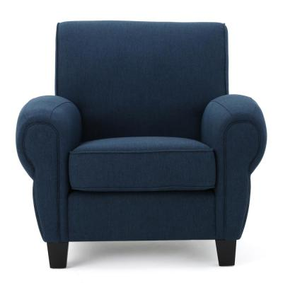 Admirable Blue Chairs Living Room Furniture The Home Depot Machost Co Dining Chair Design Ideas Machostcouk