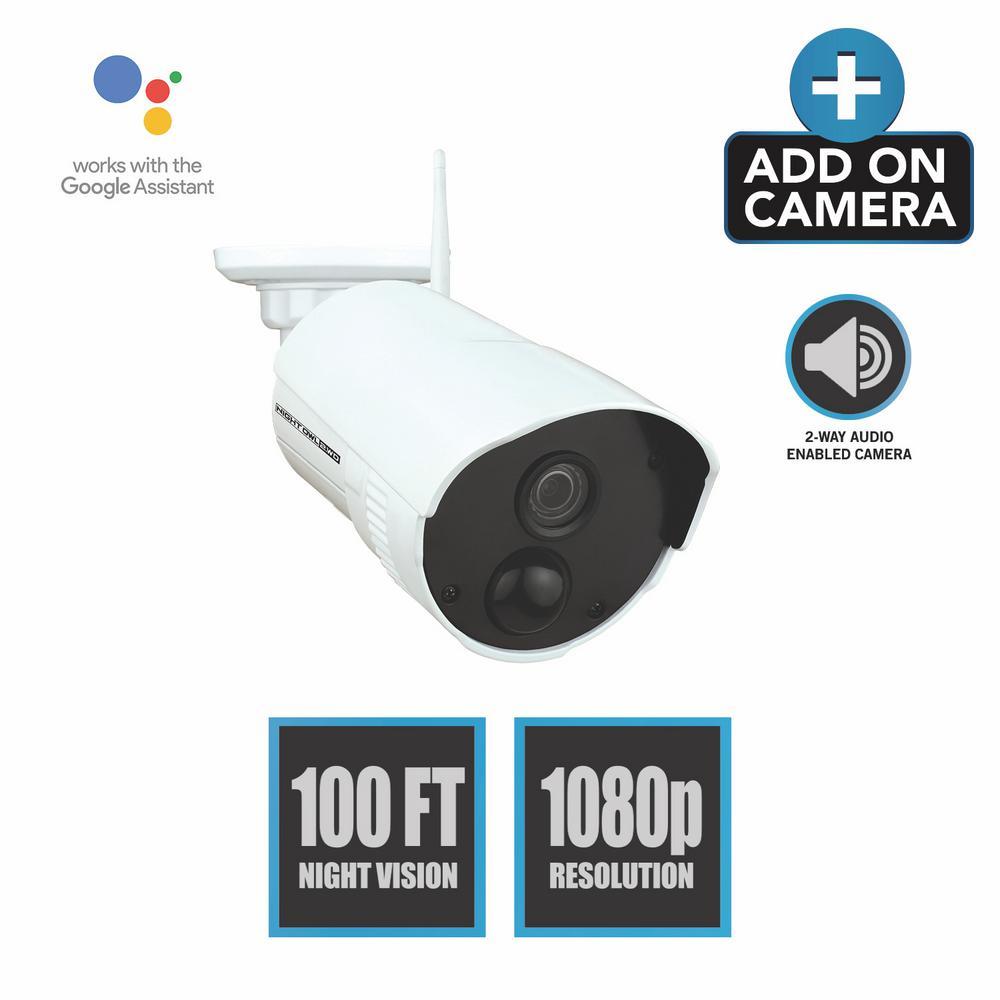 Night Owl Add-On Indoor/Outdoor Wireless 1080p AC Powered Camera