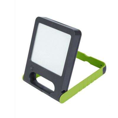LED Green Solar Pad Light with Rechargeable Battery