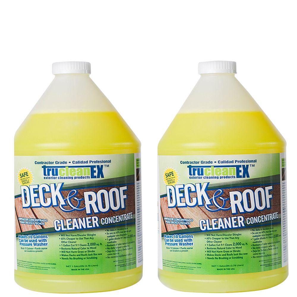CFI 1-gal. TruCleanEX Deck and Roof Cleaner Concentrate (2-Pack)