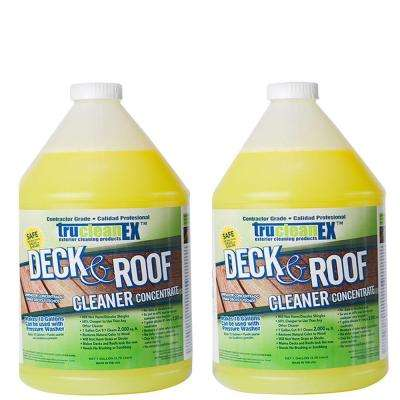 1-gal. TruCleanEX Deck and Roof Cleaner Concentrate (2-Pack)