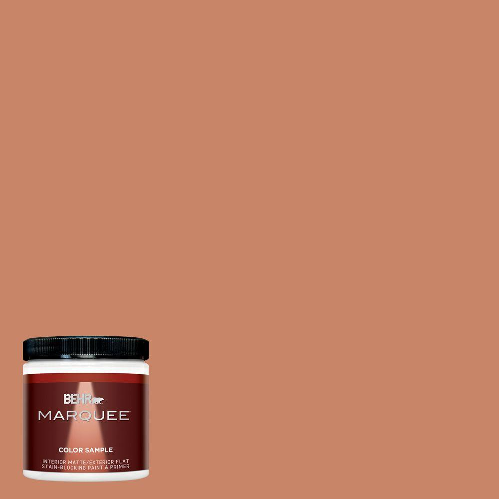 Painting Walls In Shades Of Melon: BEHR MARQUEE 8 Oz. #MQ4-39 Cabana Melon Interior/Exterior