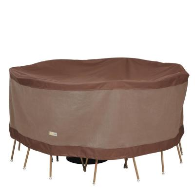 Ultimate 72 in. Dia x 29 in. H Round Table and Chair Set Cover