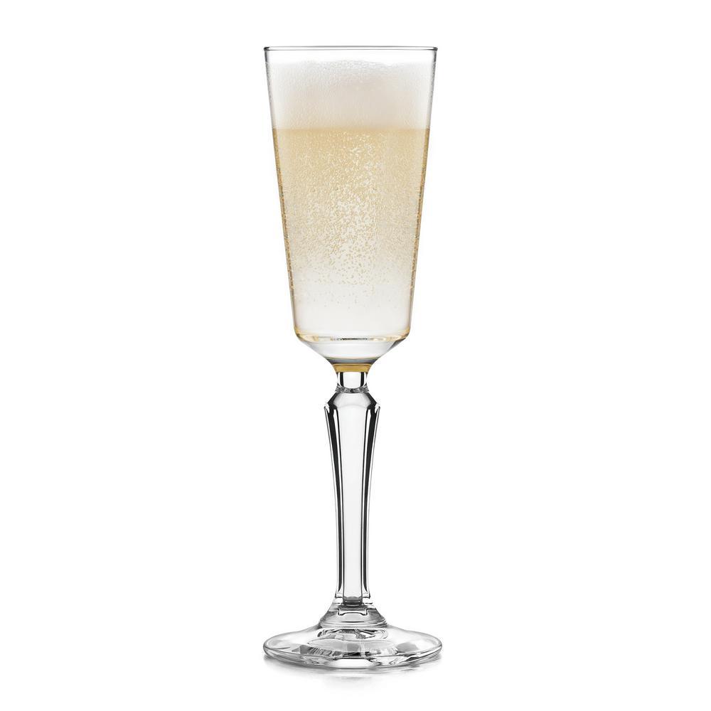 Capone 4-Piece Flute Glass Set