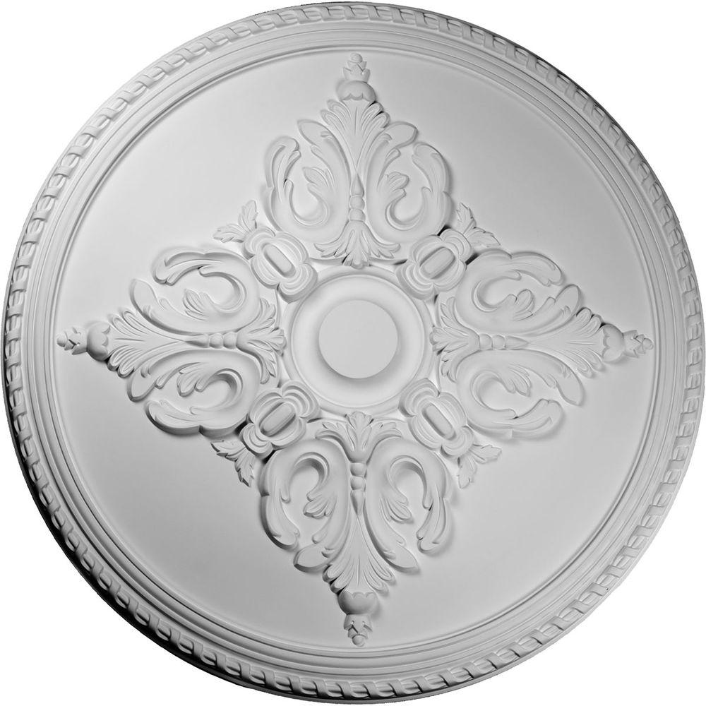 Ekena Millwork 54-1/4 in. Milton Ceiling Medallion-CM54MI - The Home Depot