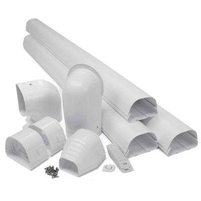 "Fortress 4.5"" LDK122W 12'  White Lineset Cover Kit"