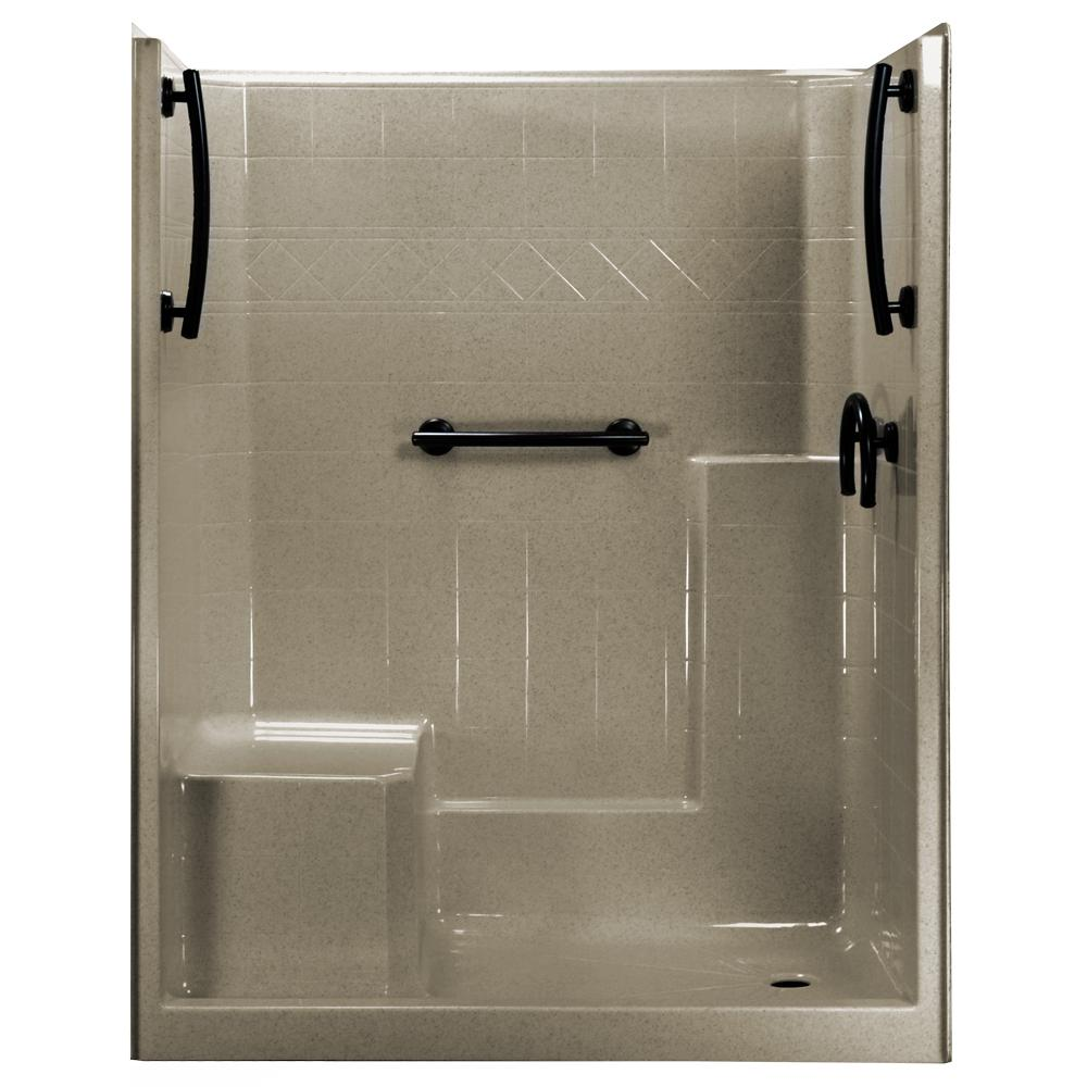 1 Piece Shower Stall Home Depot