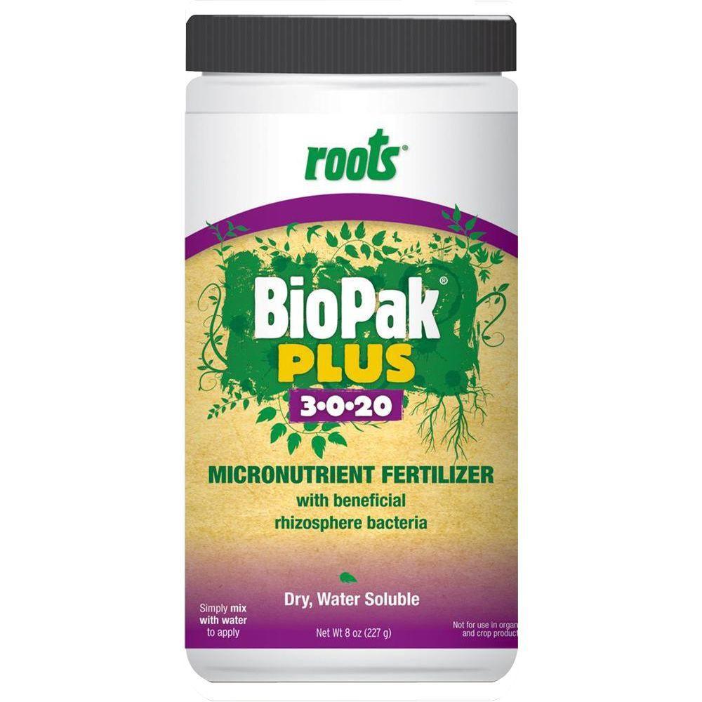 8 oz. 3-0-20 BioPak Plus Micronutrient Fertilizer