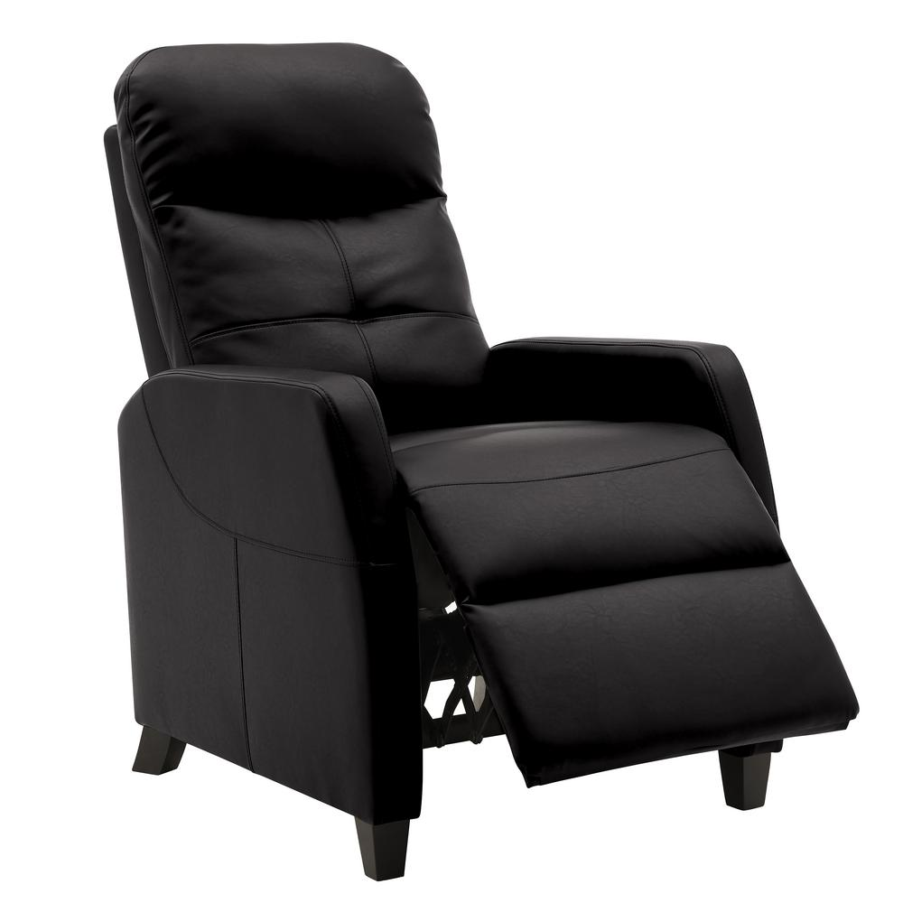 ProLounger Black Tuff Stuff Fabric Push Back Recliner Chair was $329.99 now $219.99 (33.0% off)