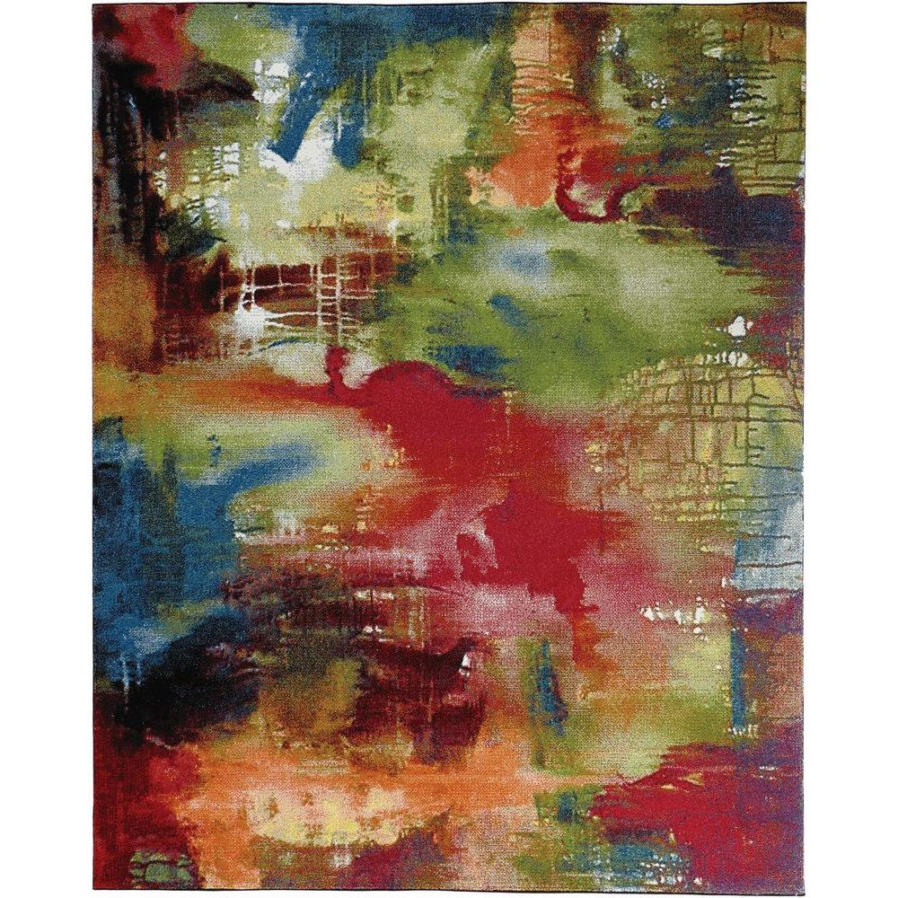 Journey Multi 8 ft. x 10 ft. Area Rug
