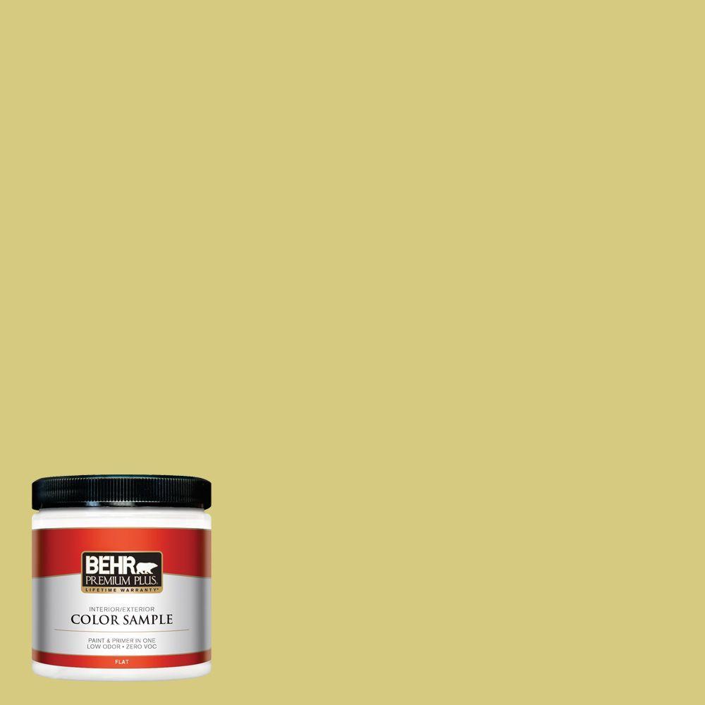 8 oz. #P350-4 Spring Grass Interior/Exterior Paint Sample