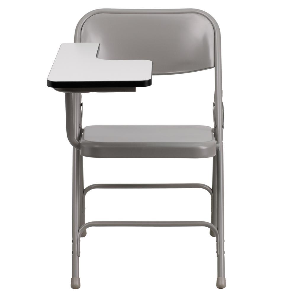 Flash Furniture Beige Steel Right Arm Folding Chair CGA-HF-0602-BE-HD