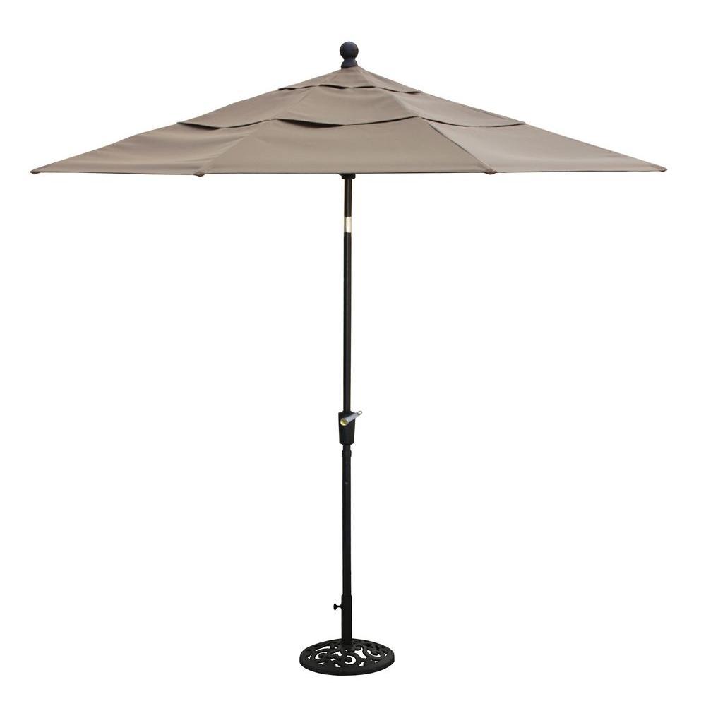 Thomasville Messina 9 ft. Patio Umbrella in Cocoa