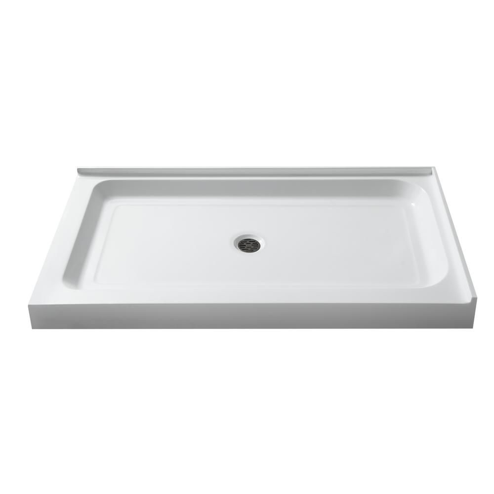 Port 36 in. x 48 in. Double Threshold Shower Base in