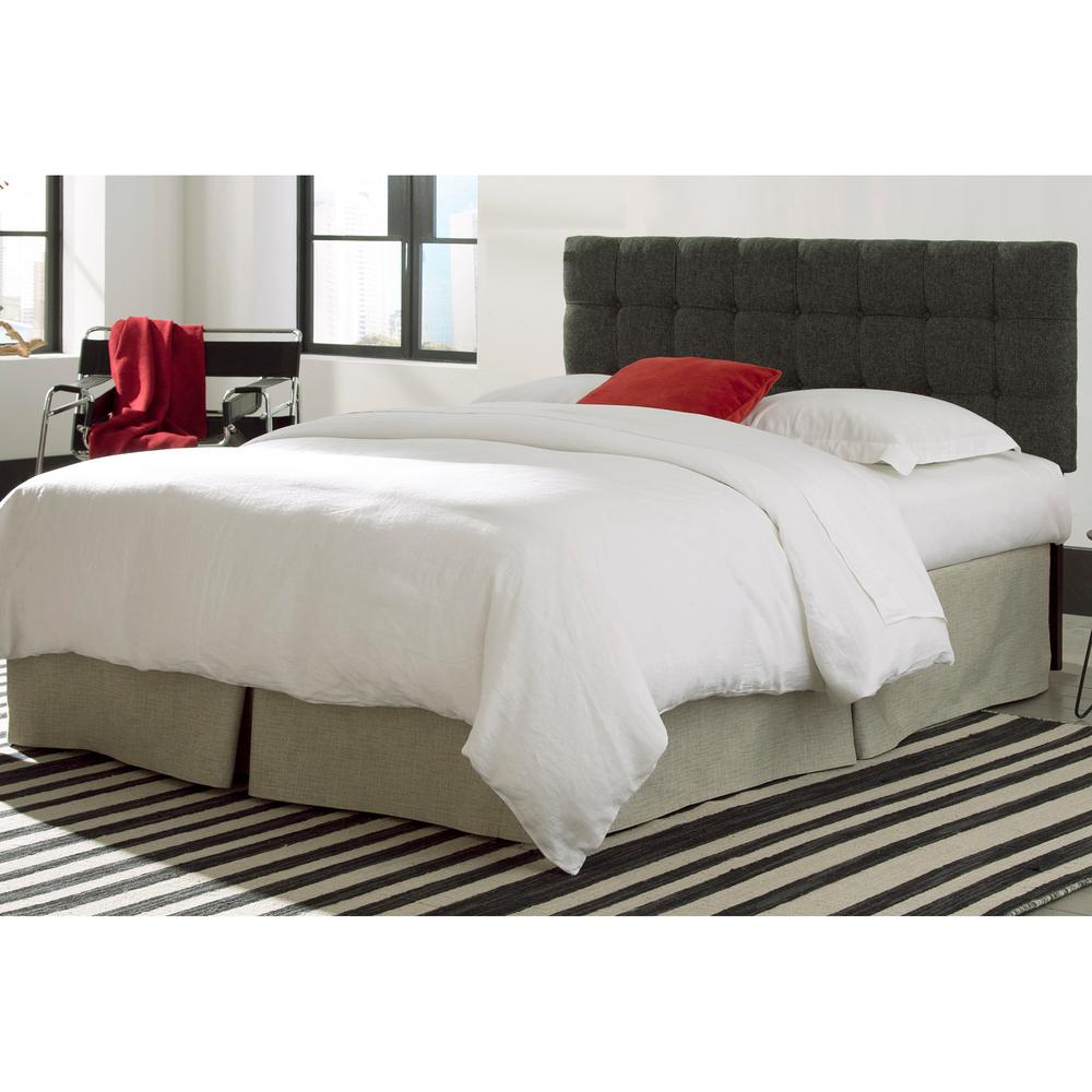 bed image p black w modern white leatherette wbutton tufted headboard button