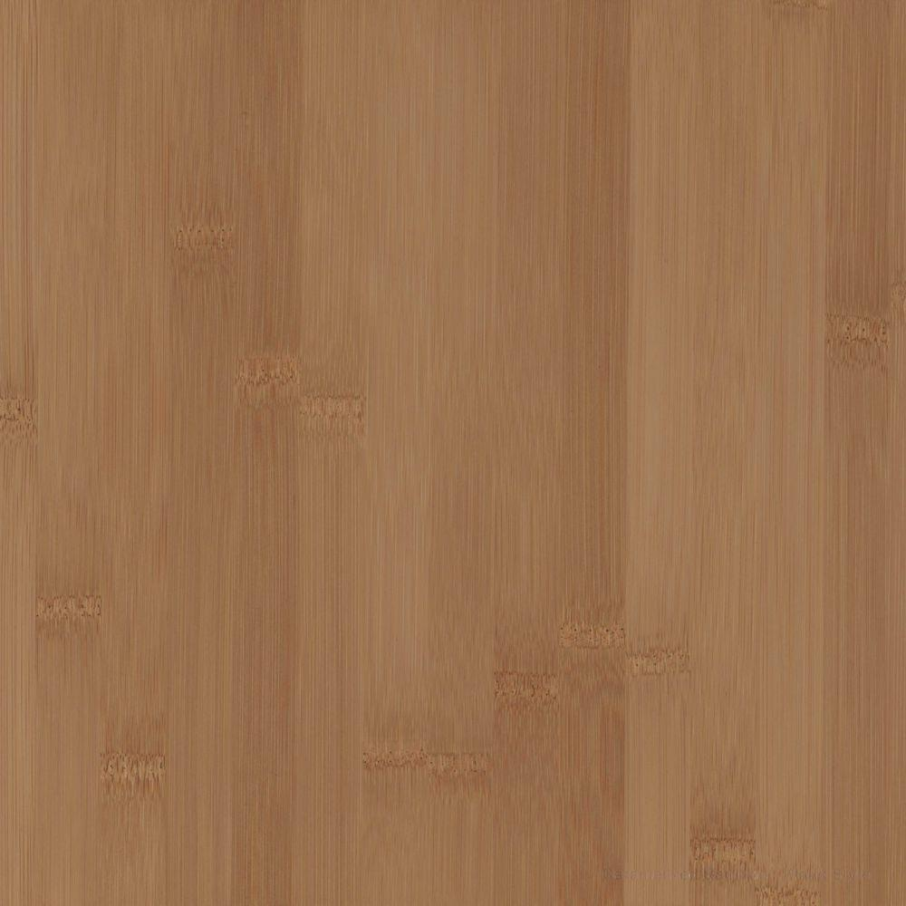 Wood Countertop Sample In Caramelized Bamboo Plank