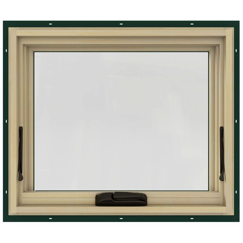 24.75 in. x 20.75 in. W-2500 Awning Clad Wood Window