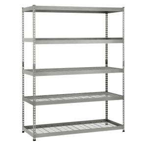 Husky 78 In H X 60 In W X 24 In D 5 Shelf Steel Unit