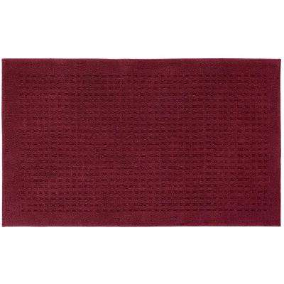Foliage Cabernet 3 ft. x 5 ft. Area Rug