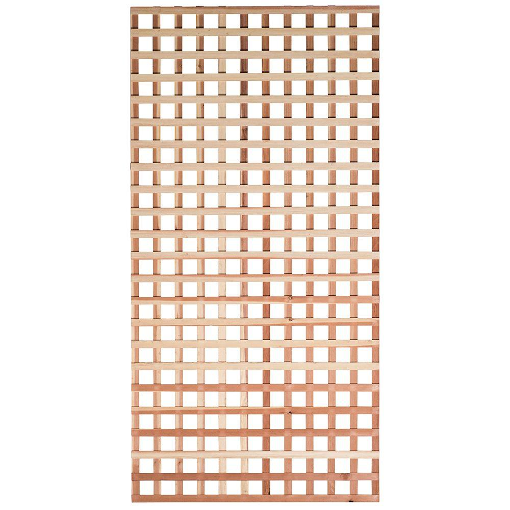 Mendocino Forest Products 7 16 In X 4 Ft X 8 Ft Redwood