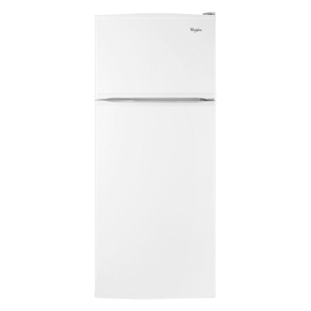 Whirlpool 17.6 cu. ft. Top Freezer Refrigerator in White-DISCONTINUED