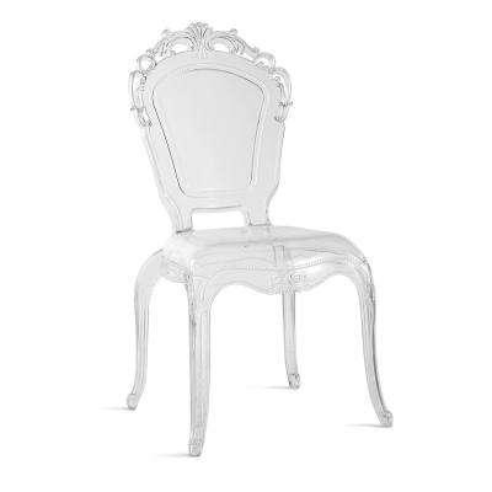 Gittel Clear Arm Dining Chair (Set of 2)