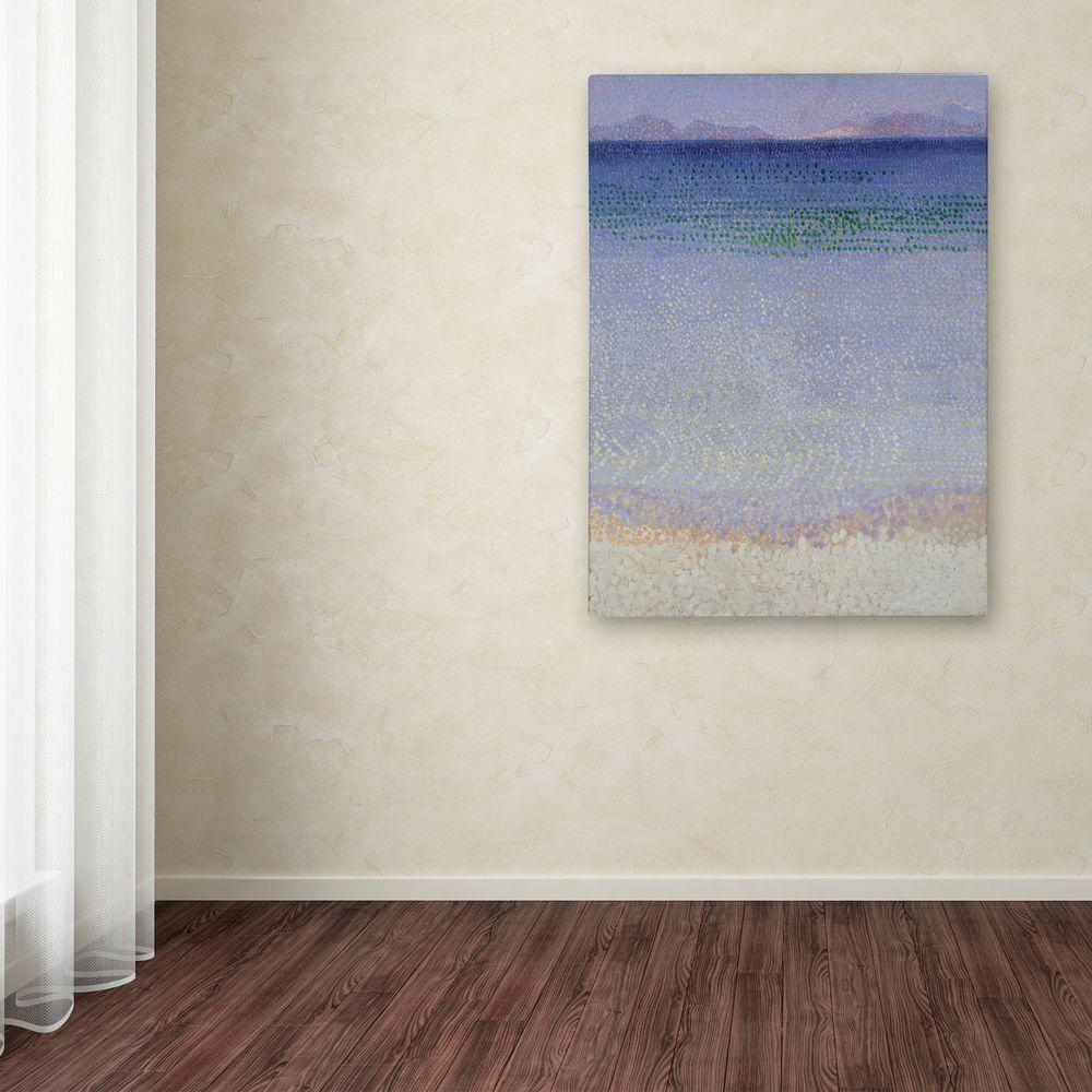 Trademark Fine Art 32 in. x 26 in. The Iles d'Or Canvas Art