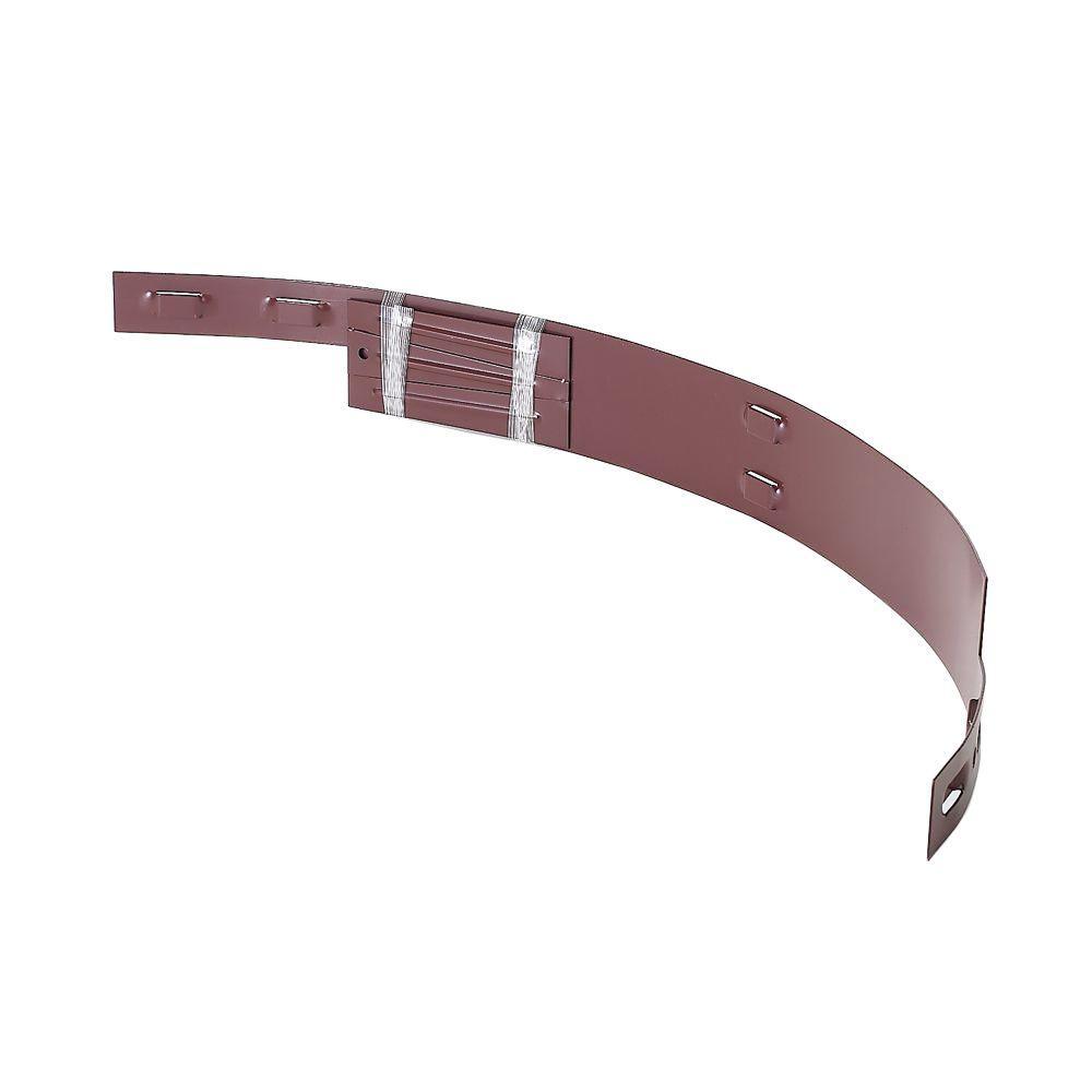 COL-MET 1 ft. Steel Tree Ring Section