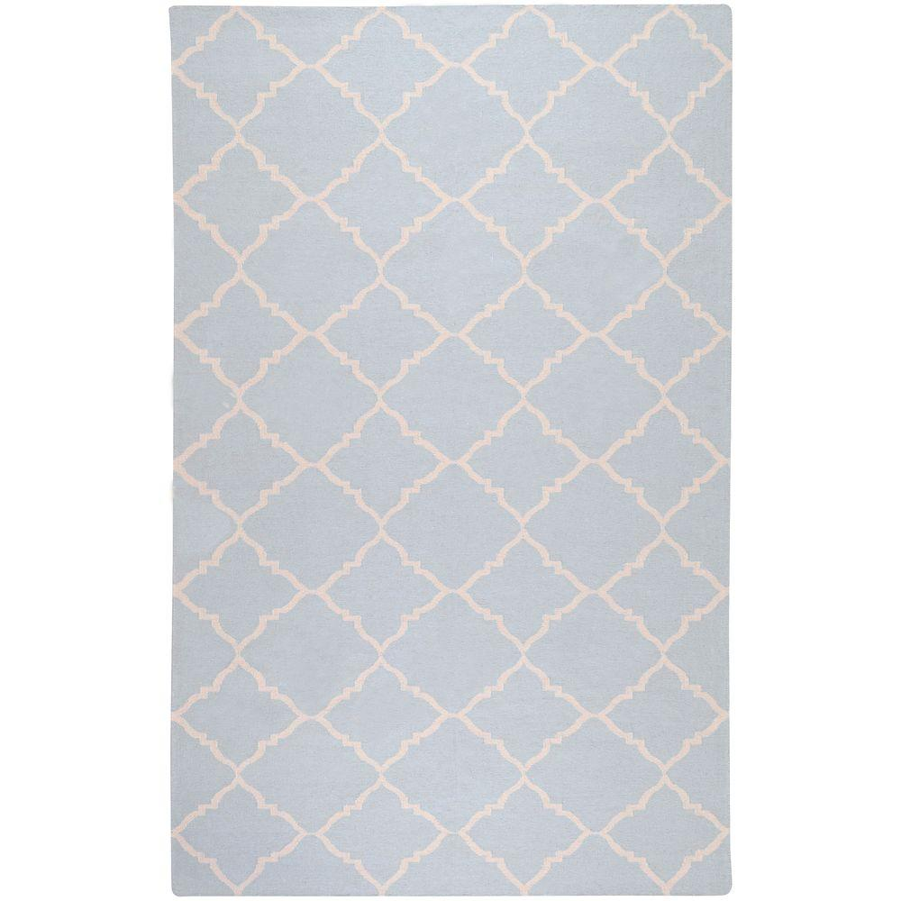 Artistic Weavers Dorado Pale Blue 5 ft. x 8 ft. Flatweave Area Rug