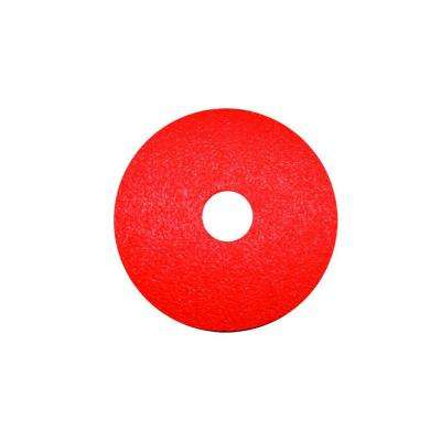 5 in. 36 Grit Fiber Disc (4-Pack)