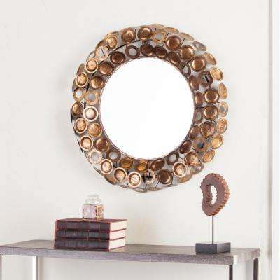Martina Round Decorative Mirror