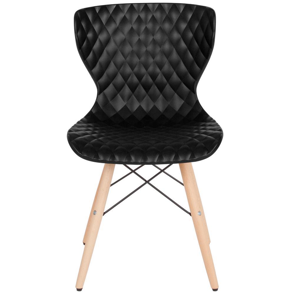 Flash Furniture Black Plastic Office/Desk Chair CGA-LF-232241-BL-HD