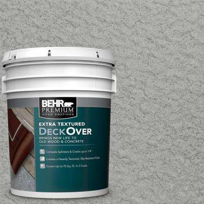 5 gal. #PFC-68 Silver Gray Extra Textured Solid Color Exterior Wood and Concrete Coating