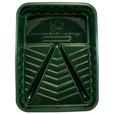 1 Qt. Green Plastic Tray (24-Pack)