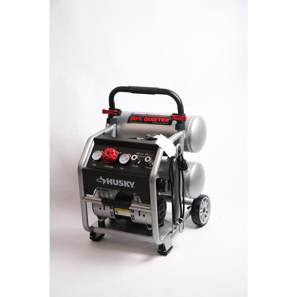 Portable Electric-Powered Silent Air Compressor
