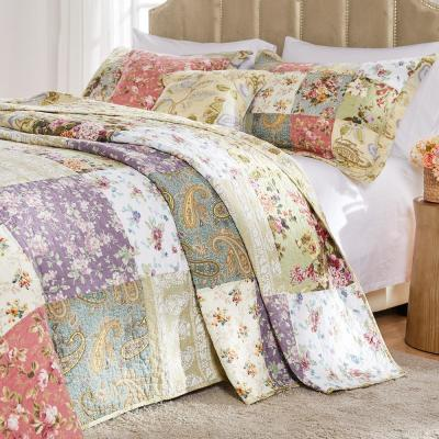 Blooming Prairie 3-Piece Full Bedspread Set