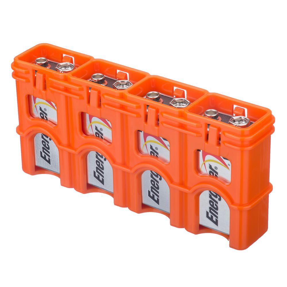 Slim Line 9-Volt Battery Organizer and Dispenser