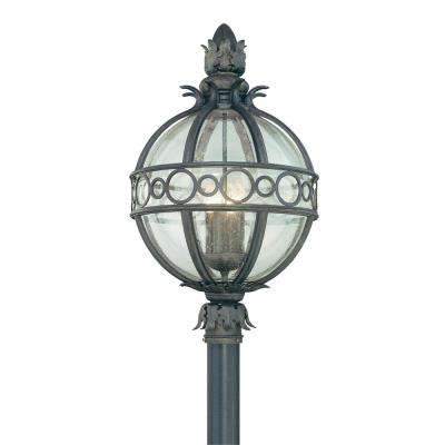 Campanile 4-Light Outdoor Campanile Bronze Post Light