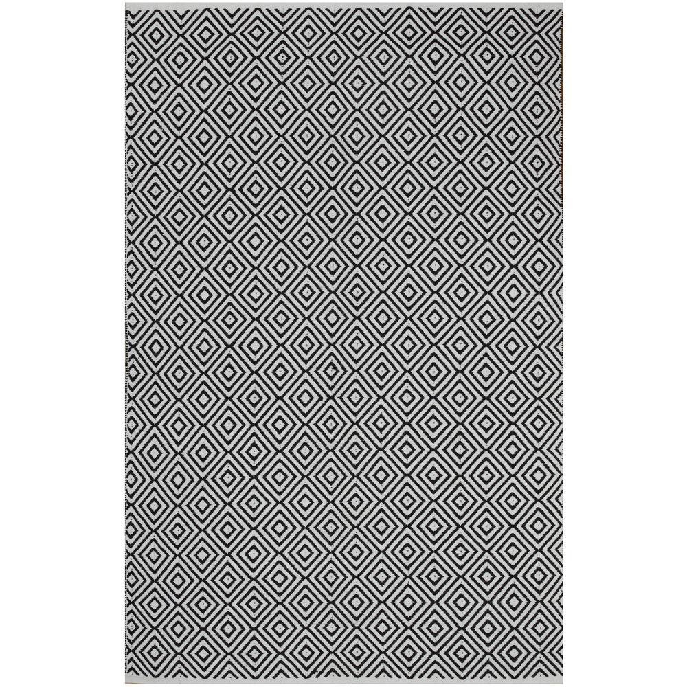 Veria - Black (3' x 5') - Cotton