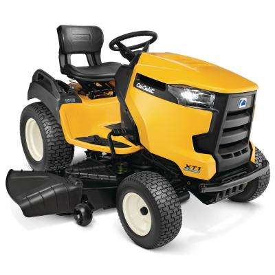 54 in. Fabricated Deck 25-HP V-Twin Kohler Gas Hydrostatic Garden Tractor with Diff-Lock