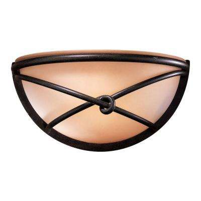 Aspen 1-Light Bronze Sconce