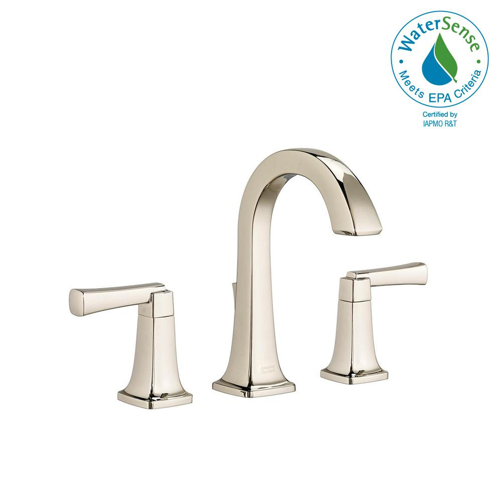 Townsend 8 in. Widespread 2-Handle High-Arc Bathroom Faucet with Speed Connect