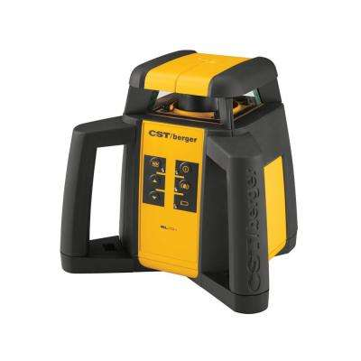 2000 ft. Self-Leveling Horizontal Rotating Laser Level Kit (3-Piece)