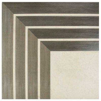 Arista Jet Noce 17-3/4 in. x 17-3/4 in. Ceramic Floor and Wall Tile (11.25 sq. ft. / case)
