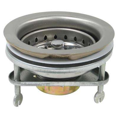 Stainless Steel Basket with Spring Lock Post
