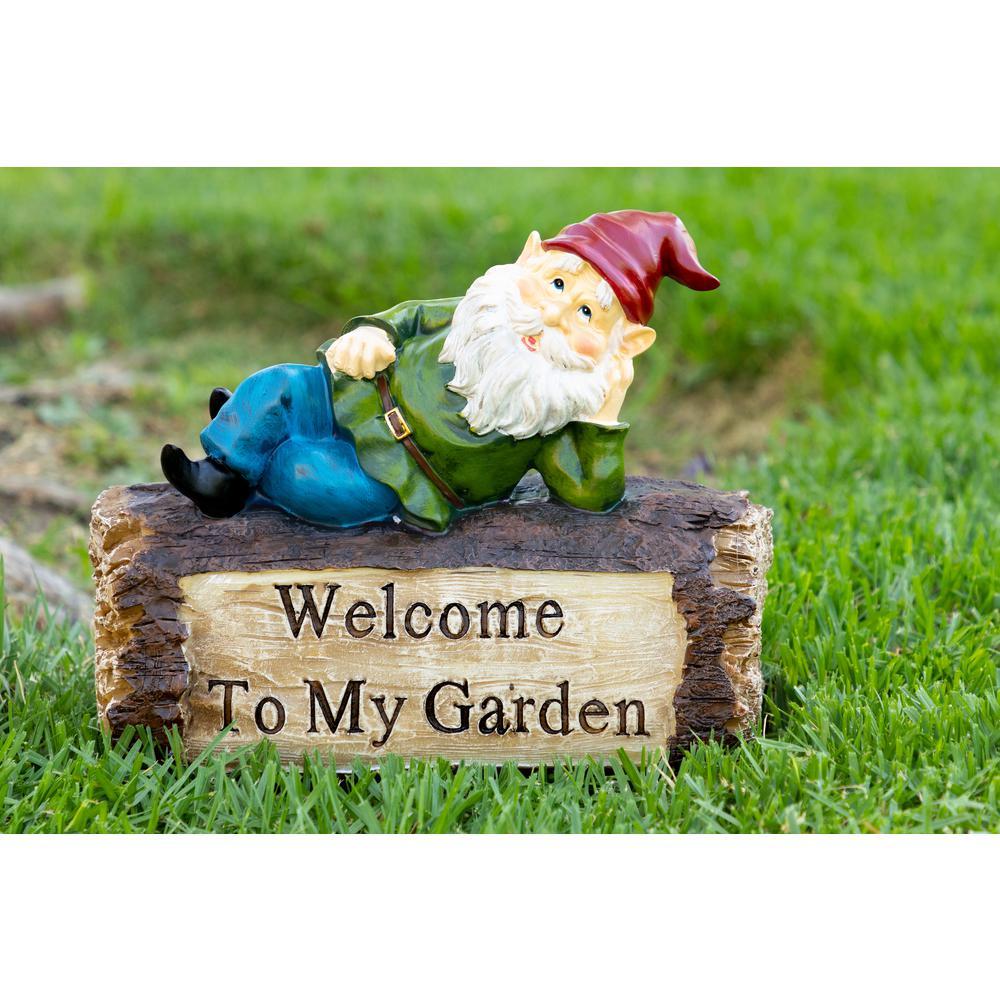 Whistling Garden Funny Gnome Ornament