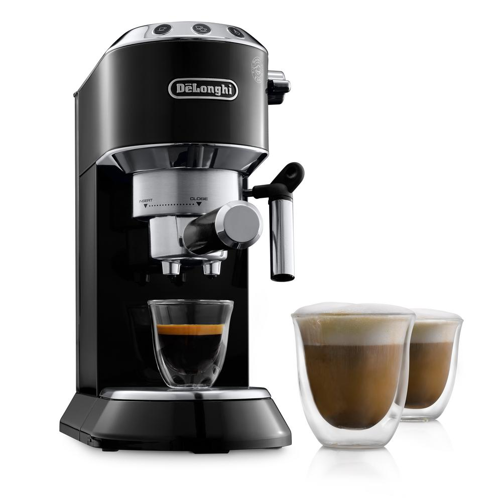 Dedica EC680 15 Bar Stainless Steel Slim Espresso and Cappuccino Machine