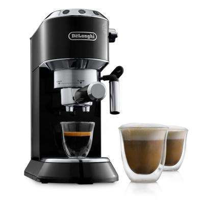 Dedica EC680 15 Bar Stainless Steel Slim Espresso and Cappuccino Machine with Advanced Cappuccino System