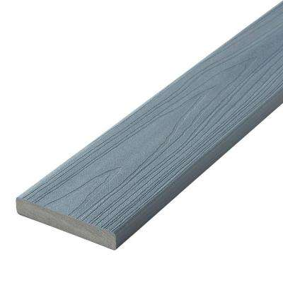 Horizon 1 in. x 5-1/4 in. x 20 ft. Castle Gray Square Edge Capped Composite Decking Board (10-Pack)
