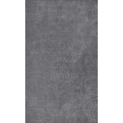 Strother Grey 9 ft. x 12 ft. Area Rug